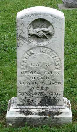 WHITNEY ELLIS, MARIA - Kane County, Illinois | MARIA WHITNEY ELLIS - Illinois Gravestone Photos