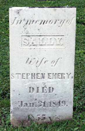 EMERY, SALLY - Kane County, Illinois | SALLY EMERY - Illinois Gravestone Photos