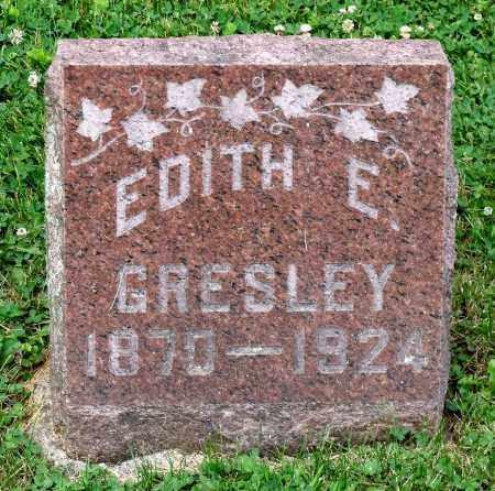GRESLEY, EDITH E. - Kane County, Illinois | EDITH E. GRESLEY - Illinois Gravestone Photos