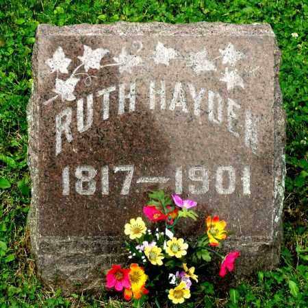 HAYDEN, RUTH - Kane County, Illinois | RUTH HAYDEN - Illinois Gravestone Photos
