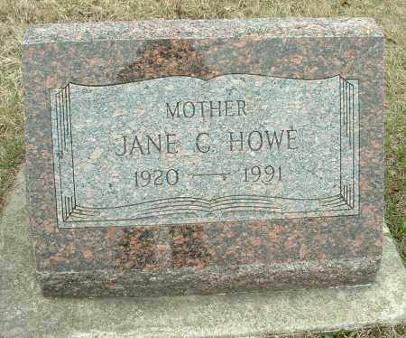 HOWE, JANE - Kane County, Illinois | JANE HOWE - Illinois Gravestone Photos