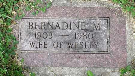 MAPES, BERNADINE M. - Kane County, Illinois | BERNADINE M. MAPES - Illinois Gravestone Photos