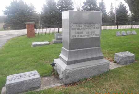 MAUSHAK, FRED - Kane County, Illinois | FRED MAUSHAK - Illinois Gravestone Photos