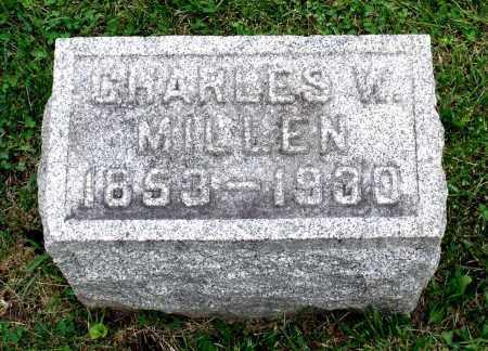 MILLEN, CHARLES W. - Kane County, Illinois | CHARLES W. MILLEN - Illinois Gravestone Photos