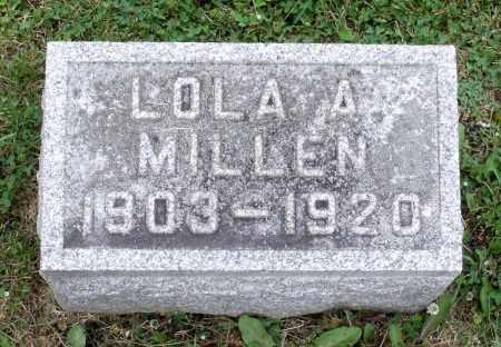 MILLEN, LOLA A. - Kane County, Illinois | LOLA A. MILLEN - Illinois Gravestone Photos