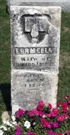 PERMELIA, MOCK - Kane County, Illinois   MOCK PERMELIA - Illinois Gravestone Photos