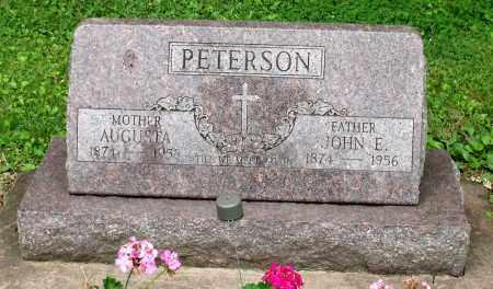 PETERSON, JOHN E. - Kane County, Illinois   JOHN E. PETERSON - Illinois Gravestone Photos