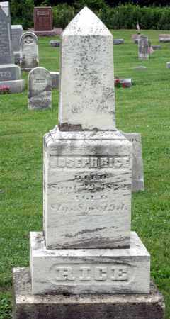 RICE, JOSEPH H. - Kane County, Illinois | JOSEPH H. RICE - Illinois Gravestone Photos