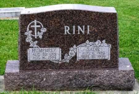 RINI, SADIE - Kane County, Illinois | SADIE RINI - Illinois Gravestone Photos