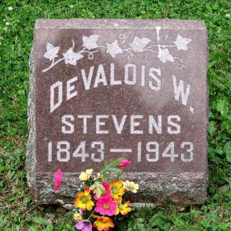 STEVENS, DEVVALOIS W. - Kane County, Illinois | DEVVALOIS W. STEVENS - Illinois Gravestone Photos