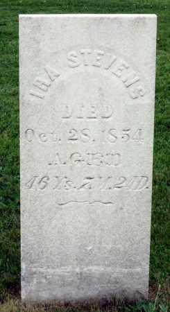 STEVENS, IRA - Kane County, Illinois   IRA STEVENS - Illinois Gravestone Photos