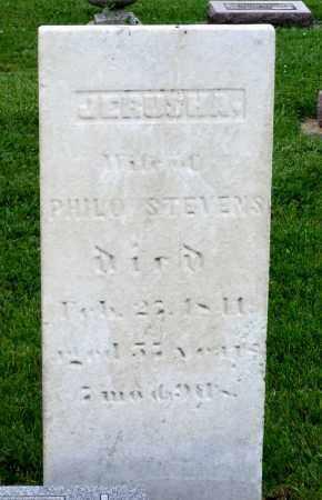STEVENS, JERUSHA - Kane County, Illinois | JERUSHA STEVENS - Illinois Gravestone Photos