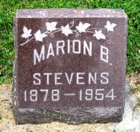 STEVENS, MARION B. - Kane County, Illinois   MARION B. STEVENS - Illinois Gravestone Photos
