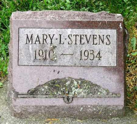 STEVENS, MARY L. - Kane County, Illinois   MARY L. STEVENS - Illinois Gravestone Photos