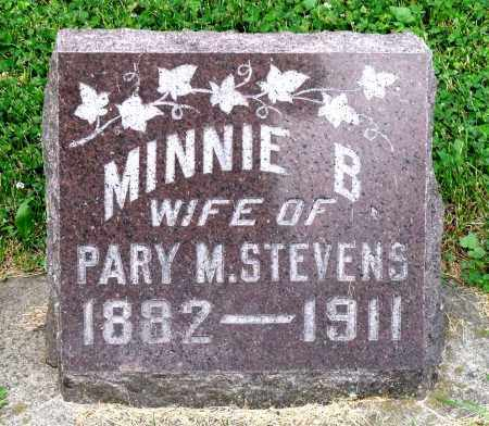 STEVENS, MINNIE B. - Kane County, Illinois | MINNIE B. STEVENS - Illinois Gravestone Photos