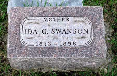 SWANSON, IDA G. - Kane County, Illinois | IDA G. SWANSON - Illinois Gravestone Photos