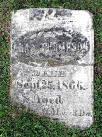 THOMPSON, CHARLES - Kane County, Illinois | CHARLES THOMPSON - Illinois Gravestone Photos