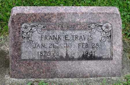 TRAVIS, FRANK E. - Kane County, Illinois | FRANK E. TRAVIS - Illinois Gravestone Photos