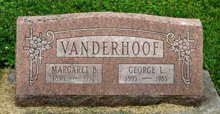 VANDERHOOF, MARGARET B. - Kane County, Illinois | MARGARET B. VANDERHOOF - Illinois Gravestone Photos