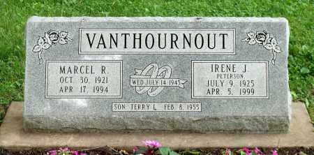 PETERSON VANTHOURNOUT, IRENE J. - Kane County, Illinois | IRENE J. PETERSON VANTHOURNOUT - Illinois Gravestone Photos