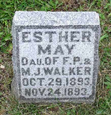 WALKER, ESTHER MAY - Kane County, Illinois | ESTHER MAY WALKER - Illinois Gravestone Photos