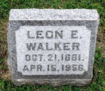 WALKER, LEON E. - Kane County, Illinois | LEON E. WALKER - Illinois Gravestone Photos