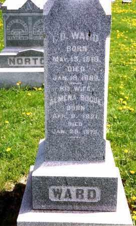 WARD, ISAAC DAYTON - Kane County, Illinois   ISAAC DAYTON WARD - Illinois Gravestone Photos