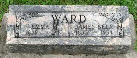 WARD, JAMES BELA - Kane County, Illinois   JAMES BELA WARD - Illinois Gravestone Photos