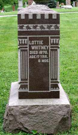 WHITNEY, CHARLOTTE - Kane County, Illinois   CHARLOTTE WHITNEY - Illinois Gravestone Photos