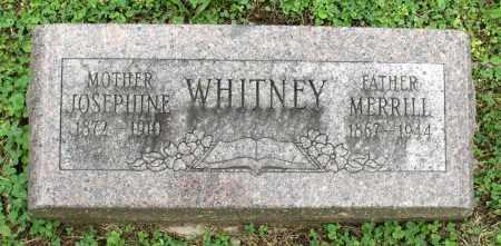 WHITNEY, JOSEPHINE - Kane County, Illinois | JOSEPHINE WHITNEY - Illinois Gravestone Photos