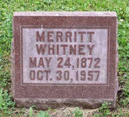 WHITNEY, MERRITT - Kane County, Illinois | MERRITT WHITNEY - Illinois Gravestone Photos