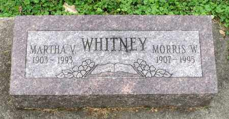 WHITNEY, MORRIS W. - Kane County, Illinois | MORRIS W. WHITNEY - Illinois Gravestone Photos