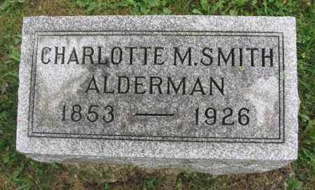 ALDERMAN, CHARLOTTE - Kendall County, Illinois | CHARLOTTE ALDERMAN - Illinois Gravestone Photos