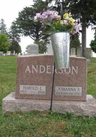 ANDERSON, HAROLD - Kendall County, Illinois   HAROLD ANDERSON - Illinois Gravestone Photos