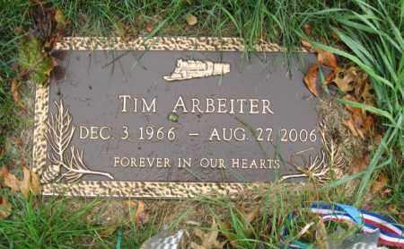 ARBEITER, TIM - Kendall County, Illinois | TIM ARBEITER - Illinois Gravestone Photos