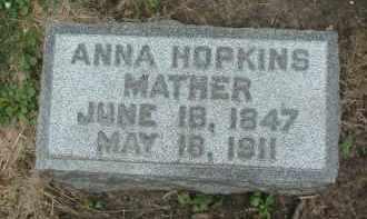 MATHER, ANNA - Kendall County, Illinois | ANNA MATHER - Illinois Gravestone Photos