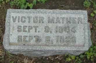 MATHER, VICTOR - Kendall County, Illinois | VICTOR MATHER - Illinois Gravestone Photos