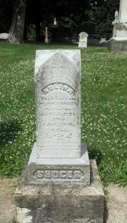SHOGER, ADLINA - Kendall County, Illinois | ADLINA SHOGER - Illinois Gravestone Photos