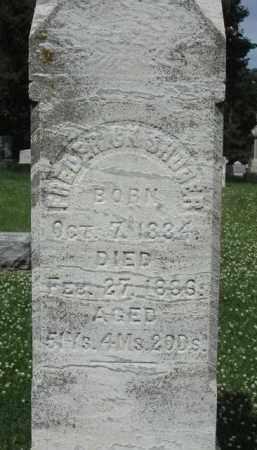 SHOGER, FREDERICK - Kendall County, Illinois   FREDERICK SHOGER - Illinois Gravestone Photos