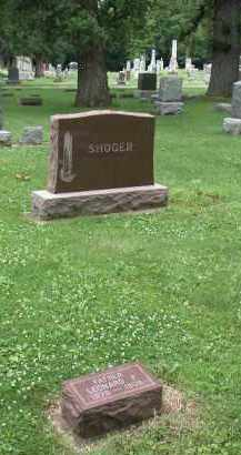 SHOGER, LEONARD - Kendall County, Illinois | LEONARD SHOGER - Illinois Gravestone Photos