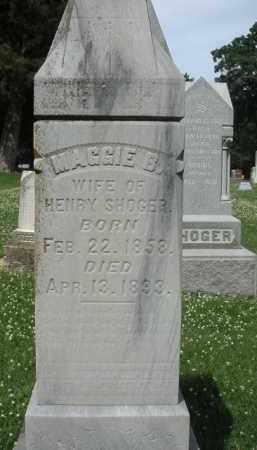 SHOGER, MAGGIE - Kendall County, Illinois | MAGGIE SHOGER - Illinois Gravestone Photos