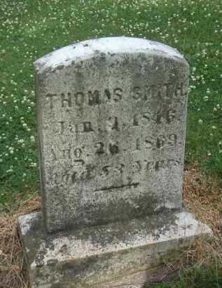 SMITH, THOMAS - Kendall County, Illinois | THOMAS SMITH - Illinois Gravestone Photos