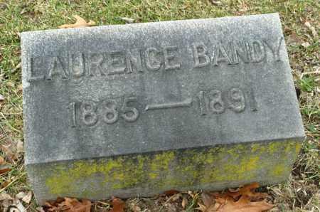 BANDY, LAURENCE - La Salle County, Illinois   LAURENCE BANDY - Illinois Gravestone Photos