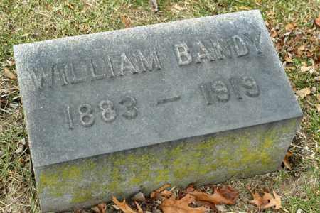 BANDY, WILLIAM - La Salle County, Illinois   WILLIAM BANDY - Illinois Gravestone Photos