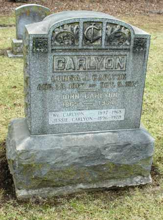 CARLYON, JOHN - La Salle County, Illinois | JOHN CARLYON - Illinois Gravestone Photos