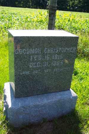 GOODMON, CHRISTOPHER - La Salle County, Illinois | CHRISTOPHER GOODMON - Illinois Gravestone Photos