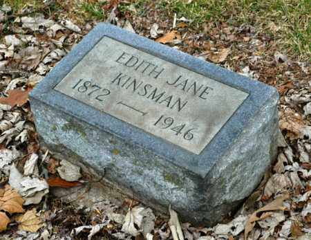 KINSMAN, EDITH JANE - La Salle County, Illinois | EDITH JANE KINSMAN - Illinois Gravestone Photos