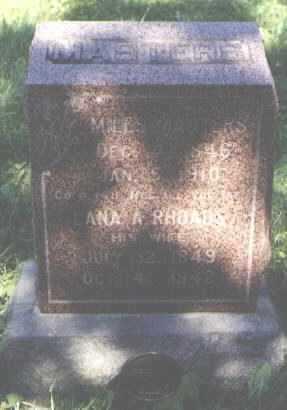RHOADS MASTERS, LANA A - La Salle County, Illinois | LANA A RHOADS MASTERS - Illinois Gravestone Photos