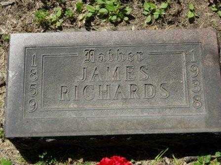RICHARDS, JAMES - La Salle County, Illinois | JAMES RICHARDS - Illinois Gravestone Photos