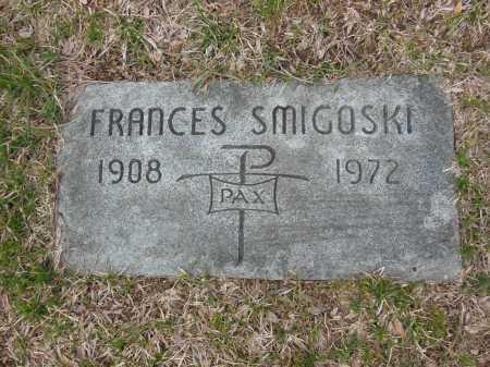 SMIGOSKI, FRANCES - Lake County, Illinois | FRANCES SMIGOSKI - Illinois Gravestone Photos